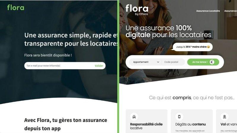 Assurance digitale - Le nouveau site web de Flora !