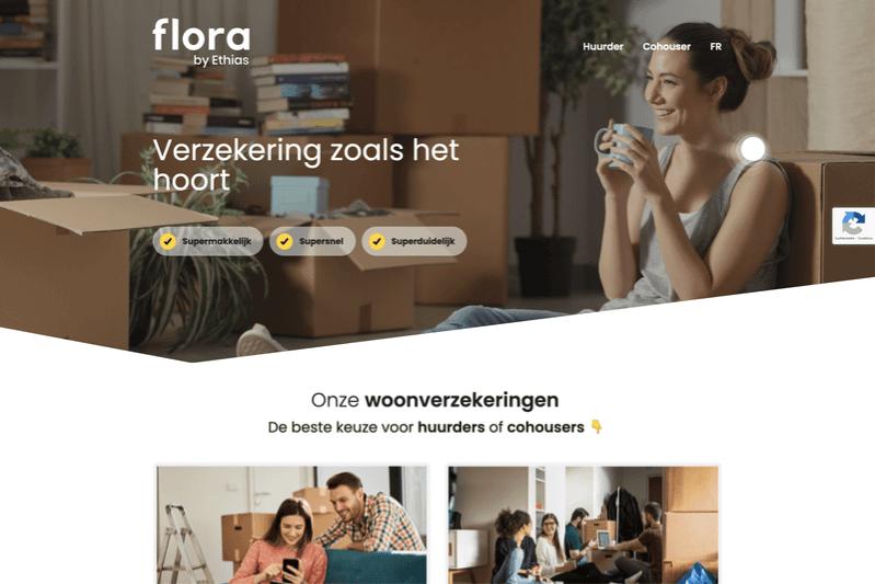 Flora by Ethias : nieuw design